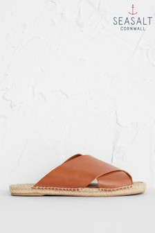 Seasalt Brown Little Porth Espadrilles