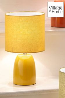 Village At Home Yellow Opal Table Lamp