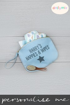 Personalised Star Nappy Bag by Dollymix