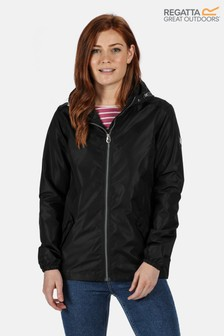 Regatta Black Lilibeth Waterproof Jacket