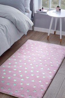 Glow In The Dark Star Rug
