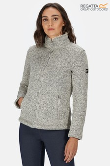 Regatta Cream Razia Full Zip Fleece Jacket
