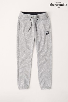 Abercrombie & Fitch Grey Logo Joggers