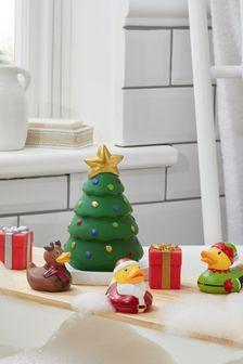Santa's Workshop Bath Toy Set