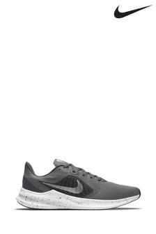 Nike Run Grey/White Downshifter 10 Trainers