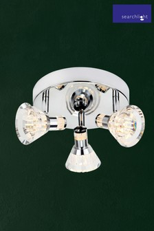 Jewel 3 Light LED Spot Plate by Searchlight