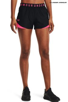 Under Armour Womens Black Play Up Shorts
