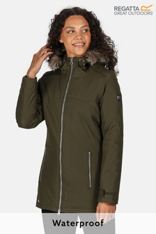 Regatta Green Myla Waterproof Jacket