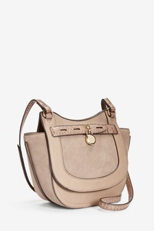 Mink Charm Saddle Bag