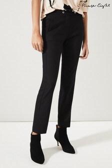 Phase Eight Black Adelia Smart Trousers