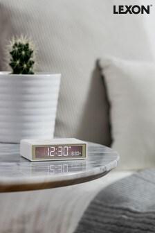 Lexon Flip Rubber Alarm Clock