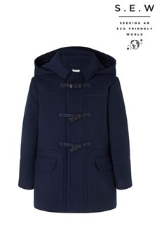Monsoon Blue S.E.W. Duffle Coat