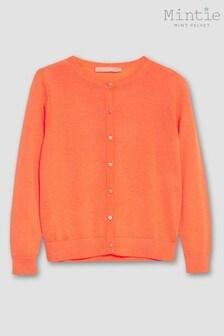 Mintie by Mint Velvet Neon Orange Cardigan