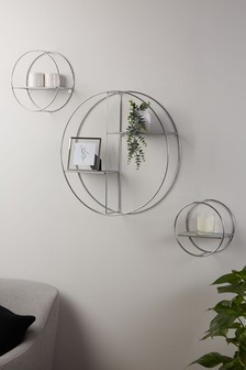 Set of 3 Wire Shelves