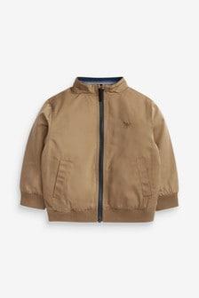Neutral Harrington Jacket (3mths-7yrs)