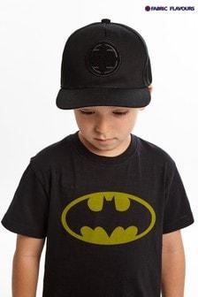 Fabric Flavours Black Batman® Classic Logo T-Shirt