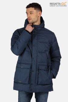 Regatta Blue Ardal Baffle Jacket