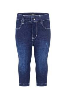 Baby Boys Blue Slim Fit Denim Jeans