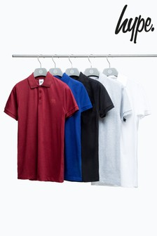 Hype. Kids Multicolour Poloshirts Five Pack