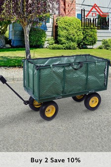 Heavy Duty Garden Trolley by Homcom