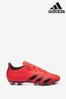 adidas Red Predator P4 Firm Ground Football Boots