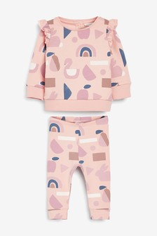 Pink Character Co-Ord Set (0mths-2yrs)