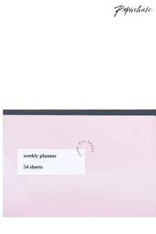Paperchase Order And Purpose Weekly Planner Desk Pad