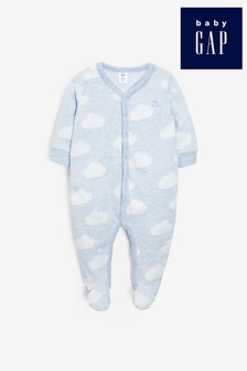 Gap Baby Cloud Print Sleepsuit