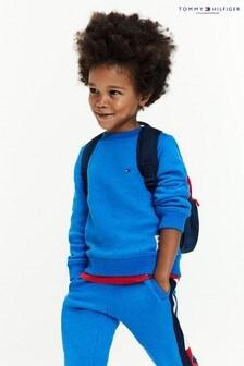 Tommy Hilfiger Blue Back Insert Sweatshirt