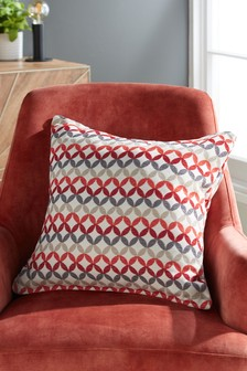Retro Geo Cushion