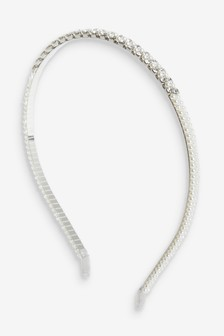 Pearl Effect Sparkle Headband