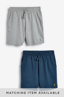 Blue/Grey Lightweight Shorts Two Pack