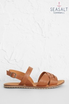 Seasalt Brown Chapel Down Sandals