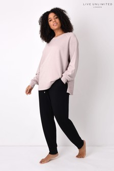 Live Unlimited Curve Dusty Pink Washed Sweatshirt