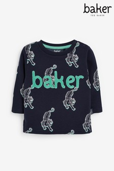 Baker by Ted Baker Boys Lion Printed Sweater