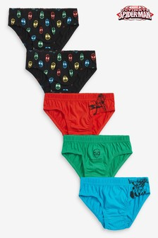 Multi Spider-Man™ 5 Pack Briefs (1.5-8yrs)