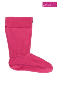 Joules Pink Molly Welly Liner Socks