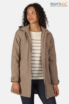 Regatta Brown Celinda Waterproof Jacket