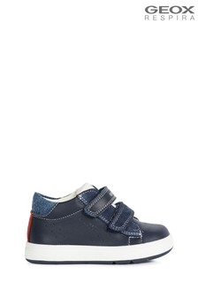 Geox Baby Boys Biglia Navy/White Shoes