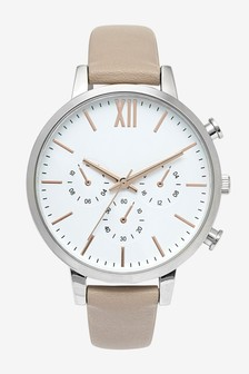 Nude Large Sporty Dial Watch
