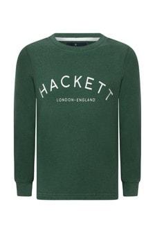 Boys Cotton Green Sweatshirt