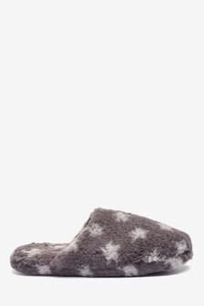 Grey Star Borg Mule Slippers