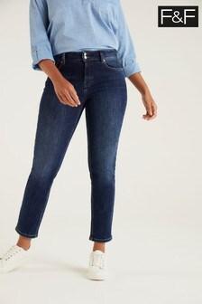 F&F Indigo Authentic Slim Jeans
