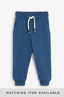 Blue Joggers Soft Touch Jersey (3mths-7yrs)