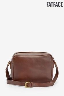 FatFace Brown Marley Plain Cross Body Bag