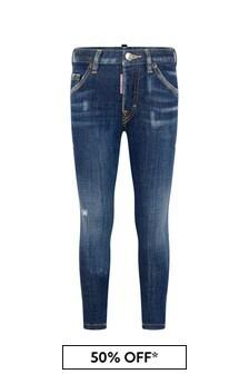 Boys Blue Denim Skater Jeans