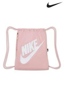 Nike Womens Pink Heritage Gymsack