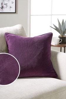 Soft Velour Square Cushion