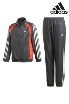 adidas Grey Woven Tracksuit