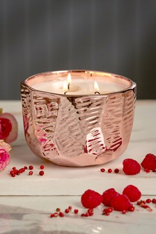 Rose And Orange Blossom 3 Wick Candle